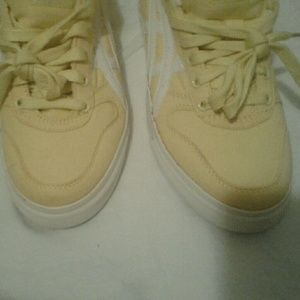 Asics yellow sneakers size 8